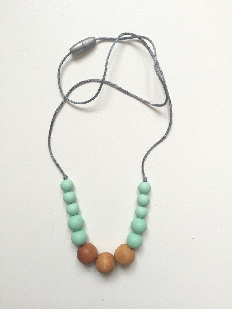Natural latex beads