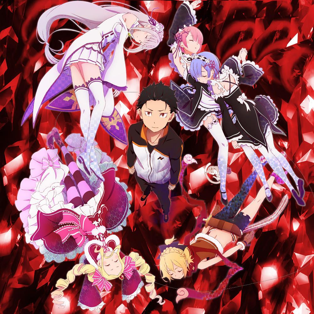 promotional artwork for re zero re