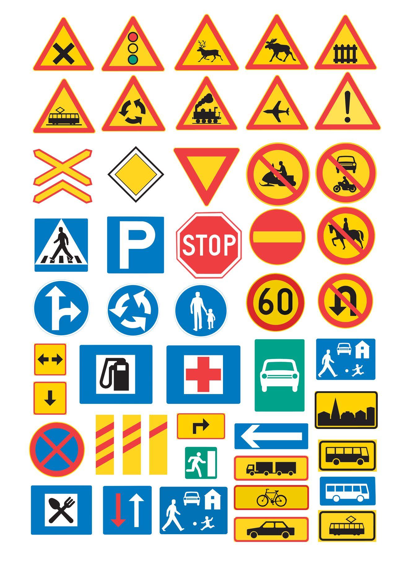 Trafikmarken