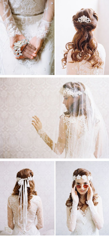 Erica Elizabeth Designs - Braut-Haarschmuck Kollektion 2014 | Bridal ...