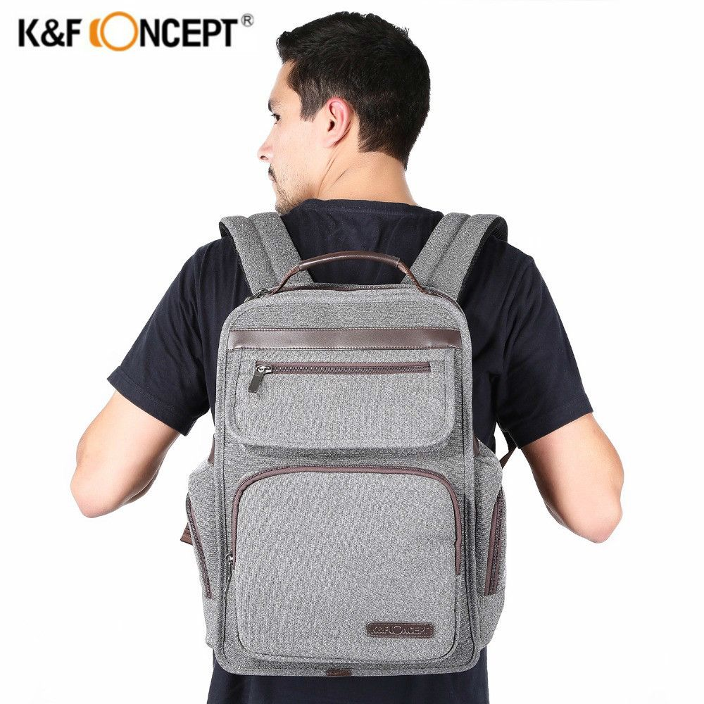 4bec915071 K F CONCEPT Professional Waterproof Camera Backpack Large Capacity Casual  Travel Bag Laptop Video Photo