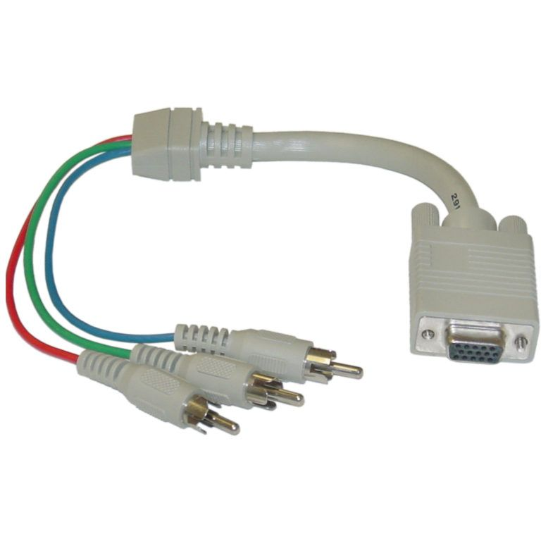 [CSDW_4250]   1ft VGA To Component Video Cable HD15 3 RCA Male Throughout Vga Wiring  Diagram | Video cable, Vga, Cable | Vga Video Cable Wiring Diagram |  | Pinterest