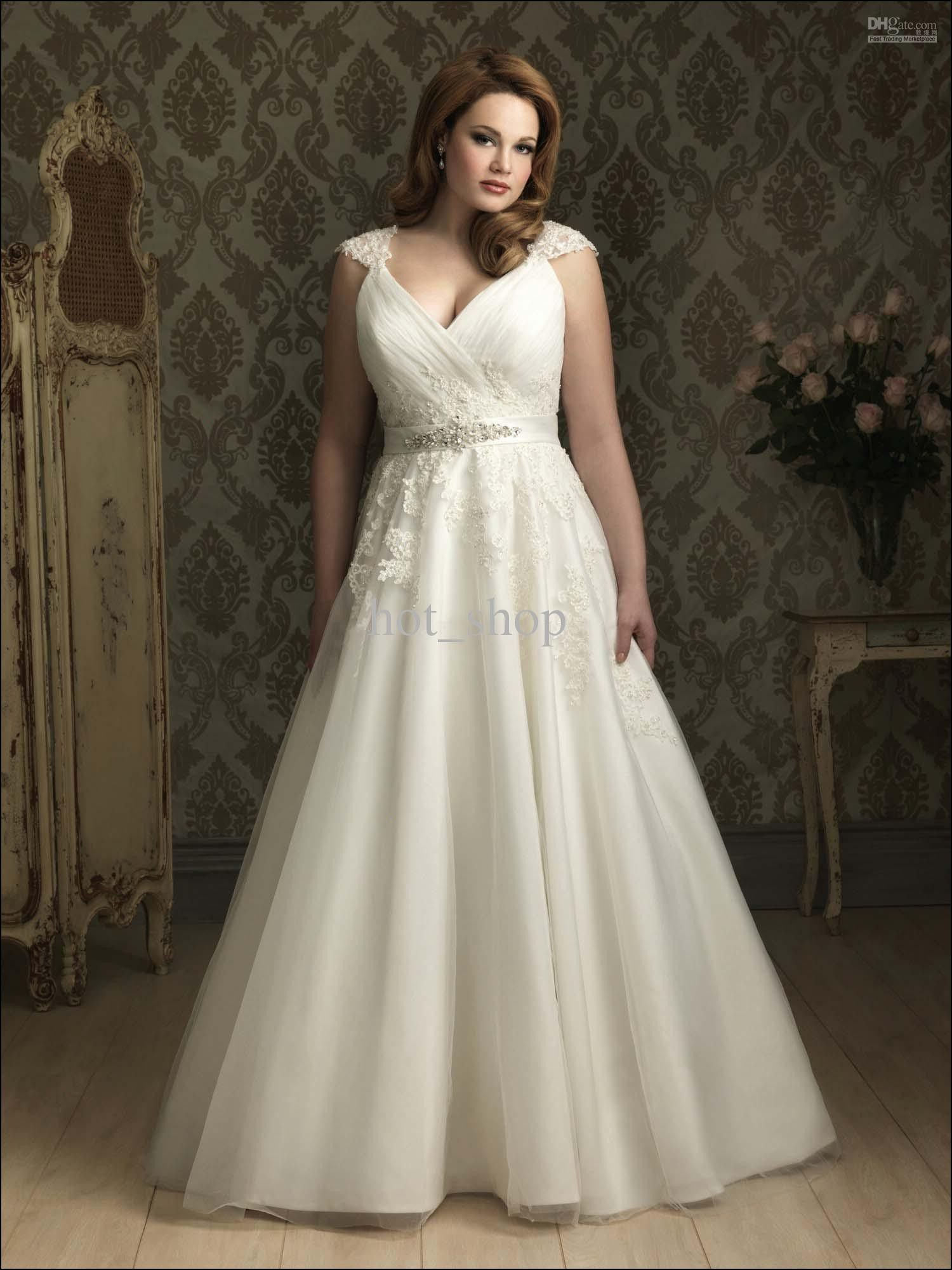 Best Wedding Gowns For Bust