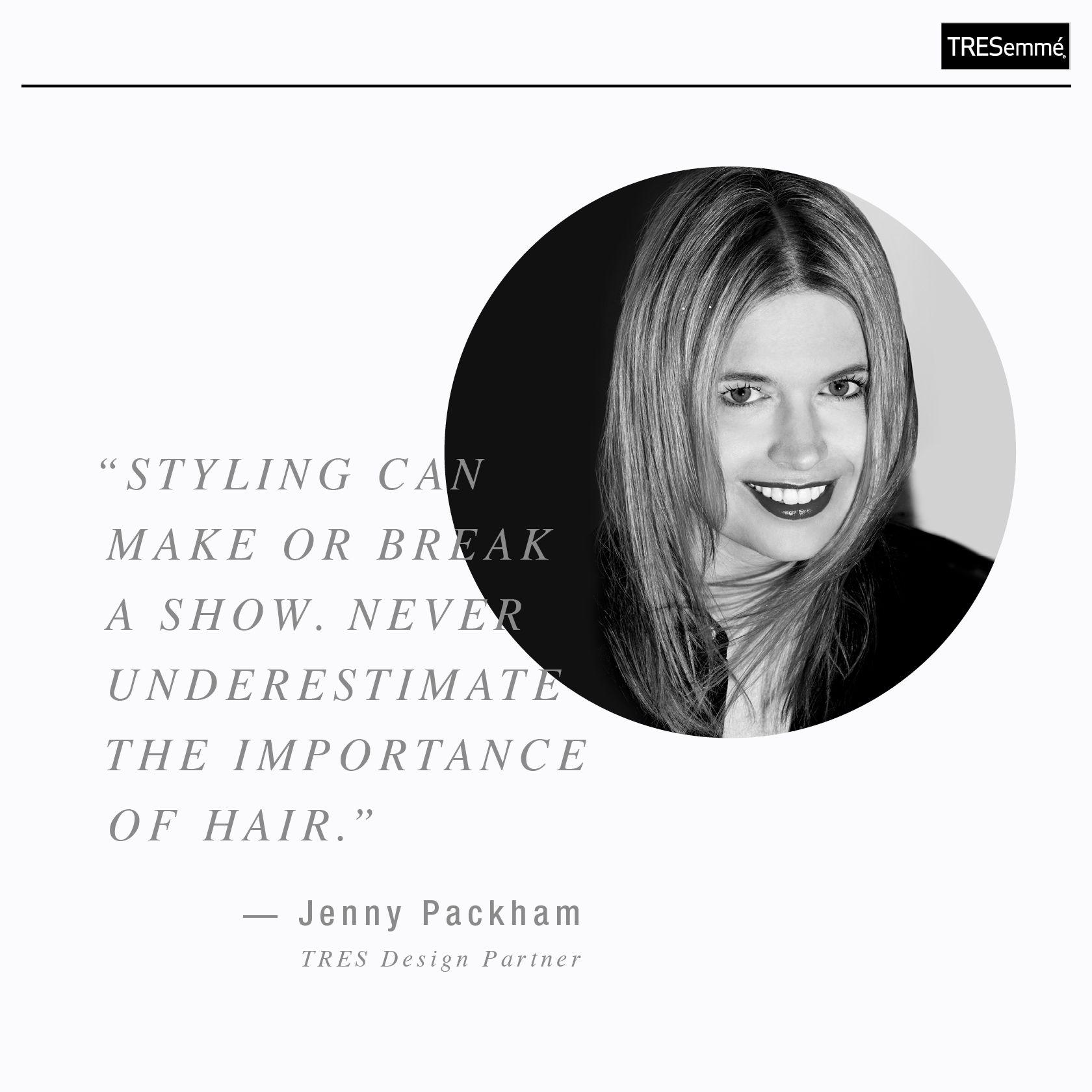 TRES Design Partner | Jenny Packham #TRESmbfw