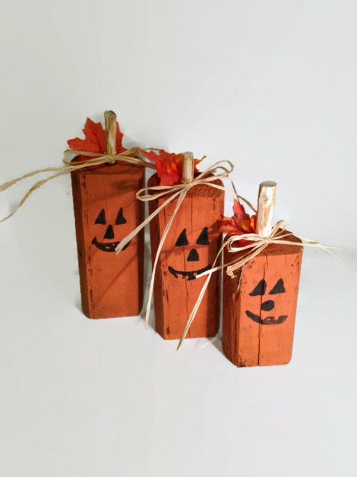 Ideas calabaza falsa para decorar la casa en otoo Pinterest