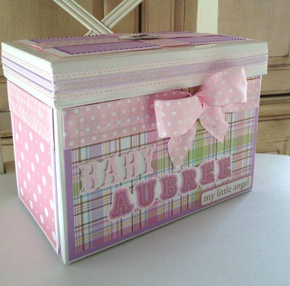 Custom Baby Box Gift Memory Keepsake
