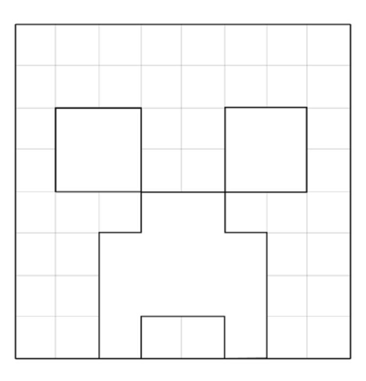 Coloring Pages For Minecraft Creeper Face Minecraft Compleanno