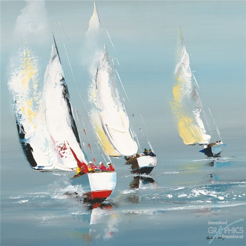 G 233 Rard De Courcy Painting Drawing Ii Pinterest Boating