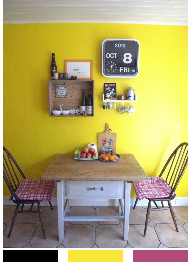 Bright.Bazaar: Yellow Kitchen With A Rustic Twist | Decoracion ...