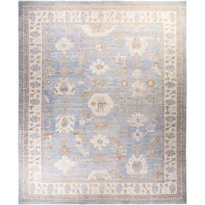 Solo Rugs Oushak Hand Knotted Area Rug 12 2 X 14 9 Rug