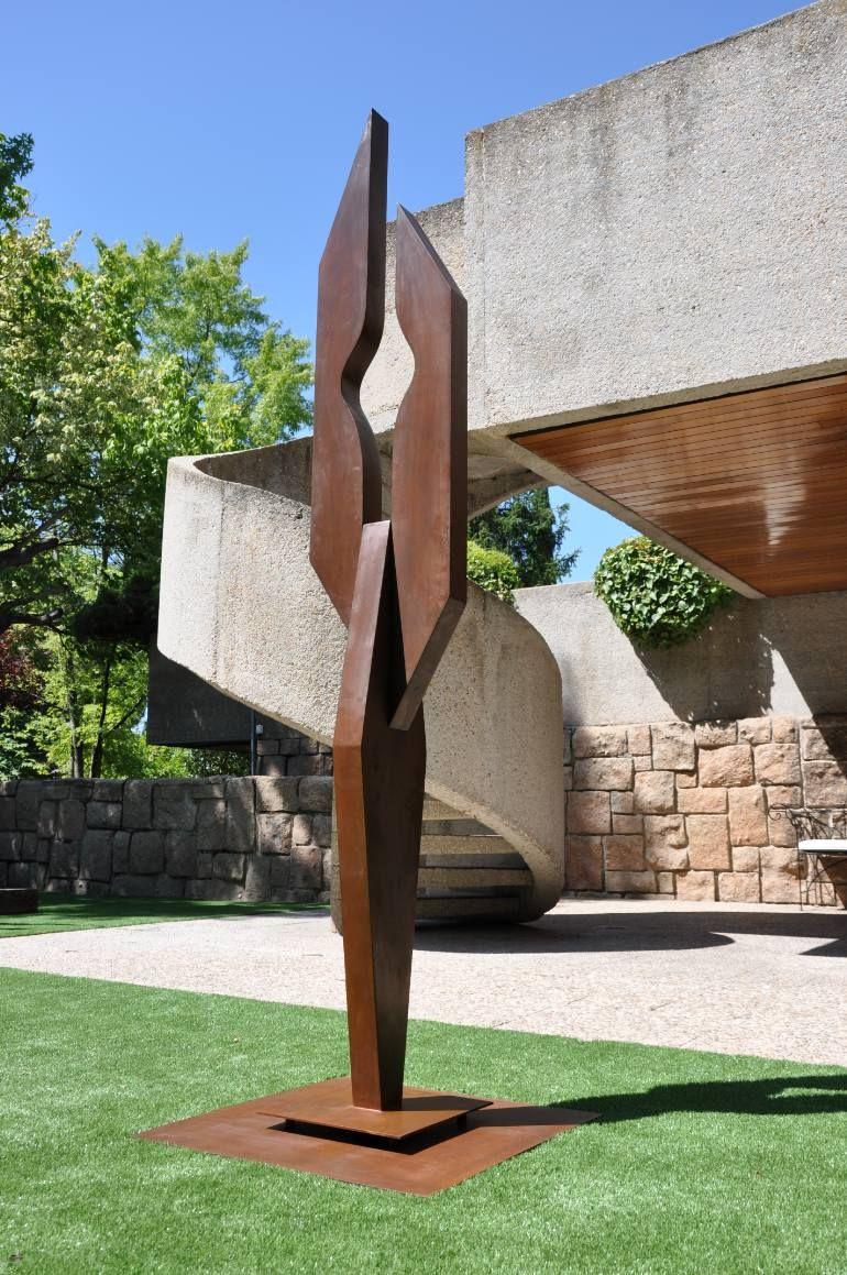Saatchi Art Artist Gonzalo De Salas Sculpture Anthropomorphous Ii Limited Edition 3 Pieces Garden Art Sculptures Metal Art Sculpture Modern Art Sculpture