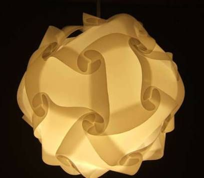 How To Build A Polygon Lamp Shade Crafts Milk Jug