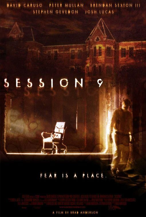 Session 9 2002 Ghost Movies Horror Movies Horror Movie Posters
