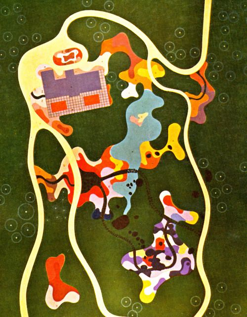 A few from the amazing Roberto Burle Marx, modernist Brazilian landscape artist in late 50s