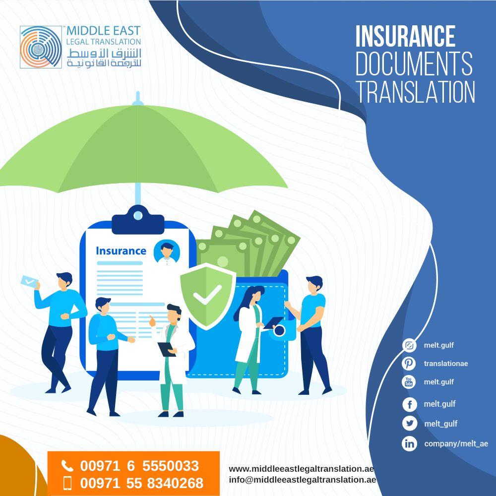 Insurance Documents Translation Life Insurance Translation Vehicle