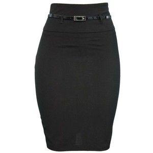 black pencil skirts for juniors | skirts knee length skirts high ...