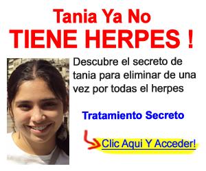 Herpes labial cura natural