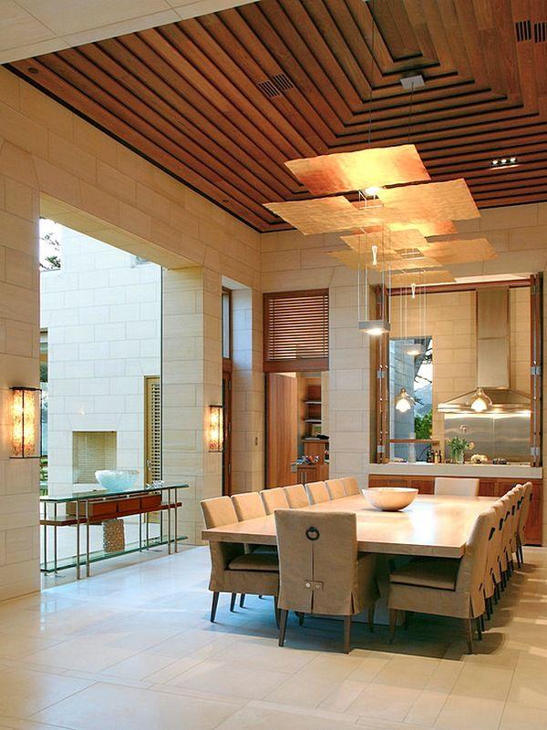 Model plafon kayu jati rumah mnimalis sederhana kecil elegan modern terbaru also rh pinterest