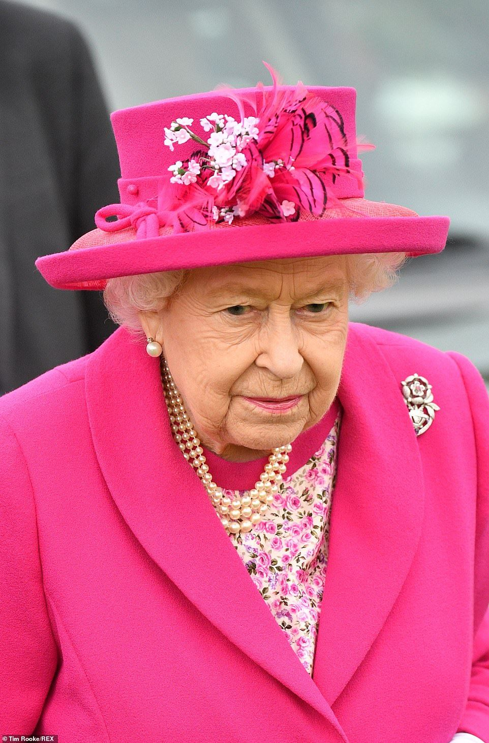 Shock As Polo Goer S Clothing Blows Into The Queen S Face At Royal Windsor Show Daily Mail Online Royal Queen Queen Elizabeth [ 1463 x 962 Pixel ]