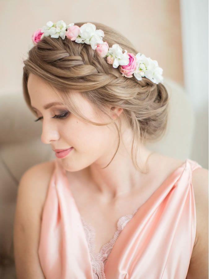 15 peinados de novia con trenza fiancee bodas style for Trenza boda