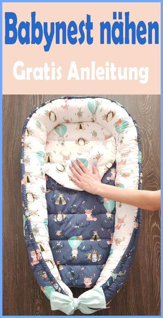 Photo of Nähen Sie Ihr Baby Nest selbst – Kostenlose DIY-Anweisungen und Muster Häkeln, Sticken & Stricken …