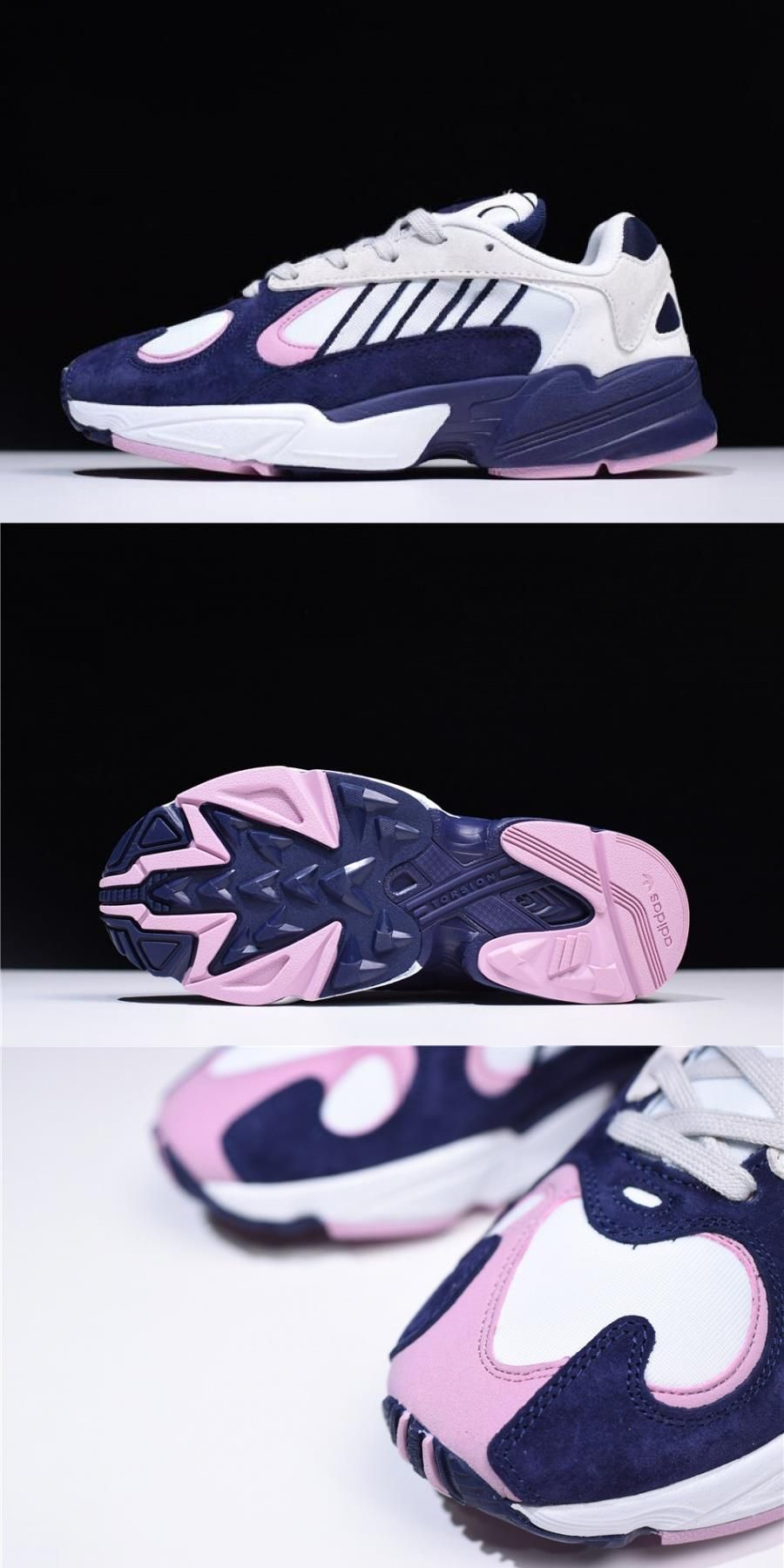 Dragon Ball Z X Adidas Originals Yung1 White/purplepink