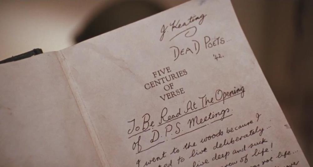 dead poets society [1989] dir. peter weir on We Heart It