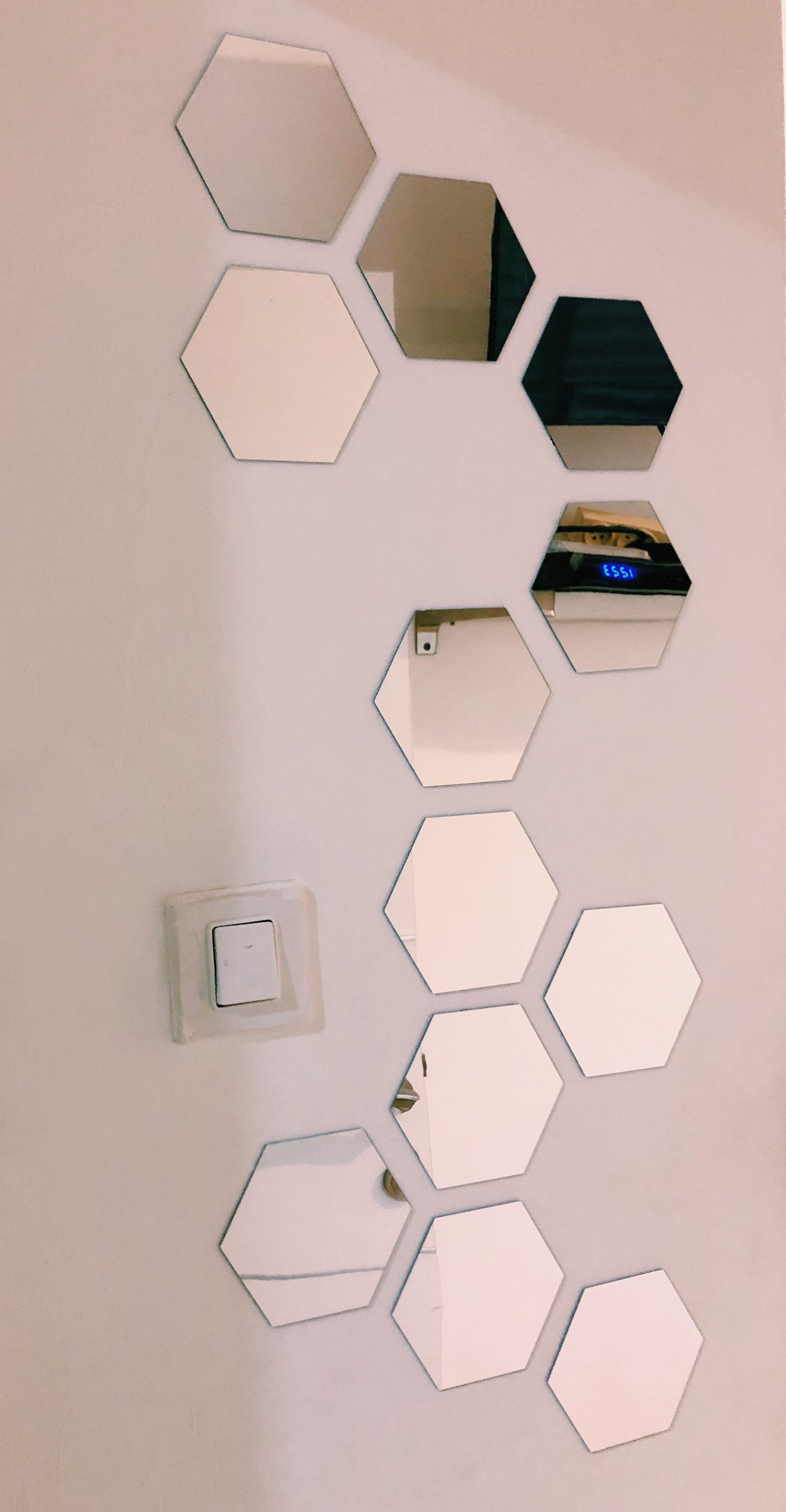 Honeycomb Mirrors Interior Design Mirror Bedroom Hallway