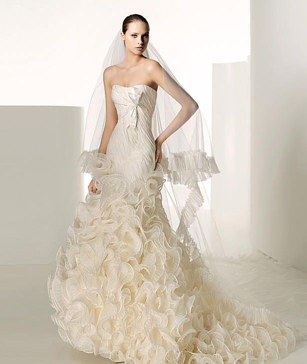 Vestidos de novia baratos 2009