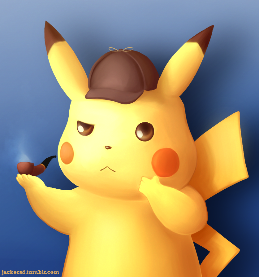 Pikachu Detective by