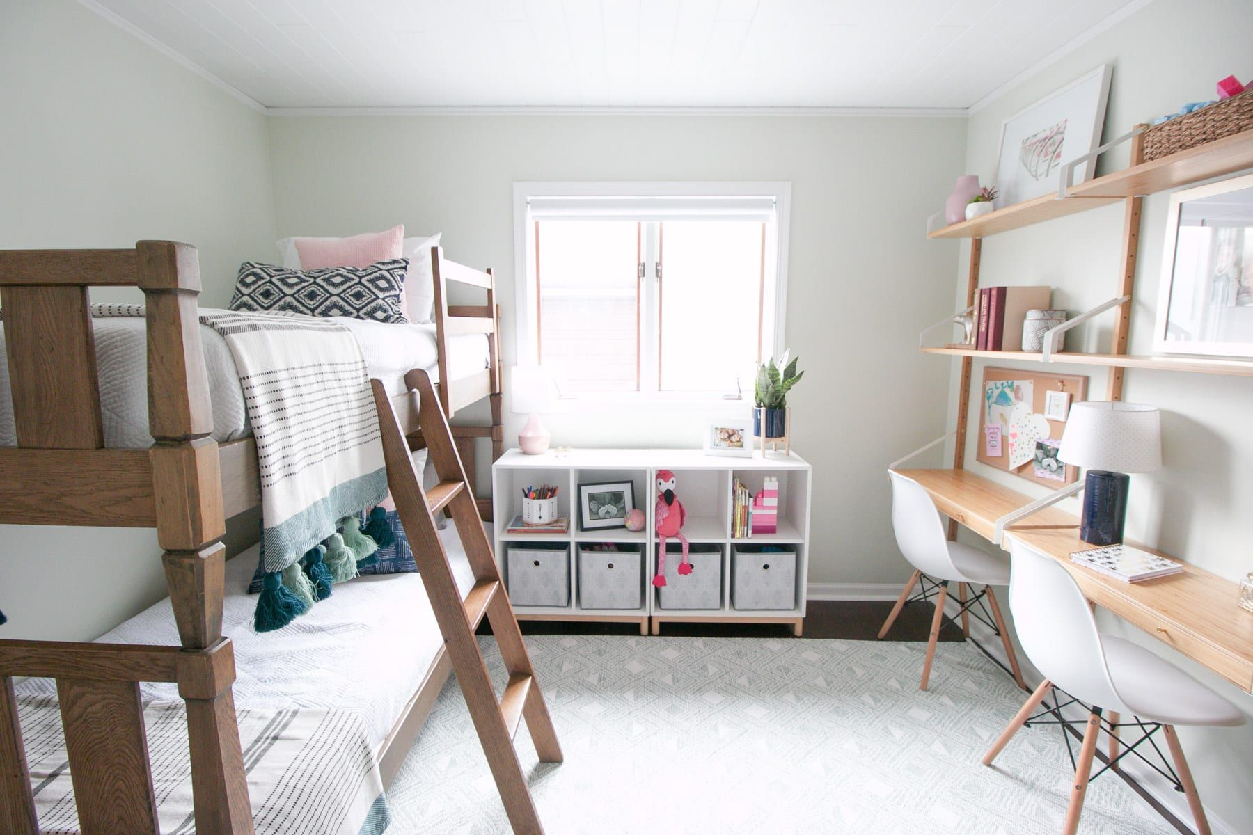 Kids' Room Makeover: The Perfect Bedroom & Playroom images