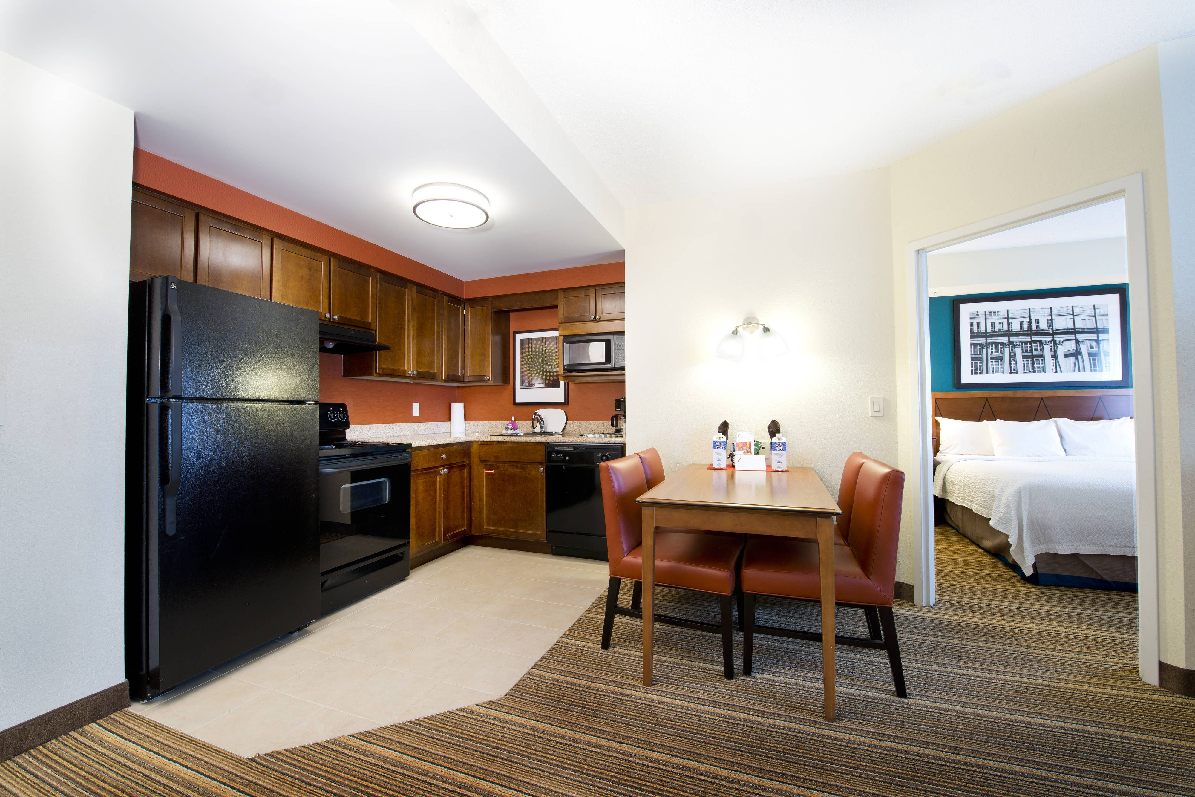 Residence Inn Mississauga Airport Corporate Centre West Two Bedroom Suite Kitchen Area Hotels Holidays Visiting Two Bedroom Suites Home Decor Residences