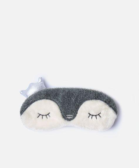 21cc3f242057a Antifaz pingüino corona. Antifaz pingüino corona Máscara Para Dormir ...