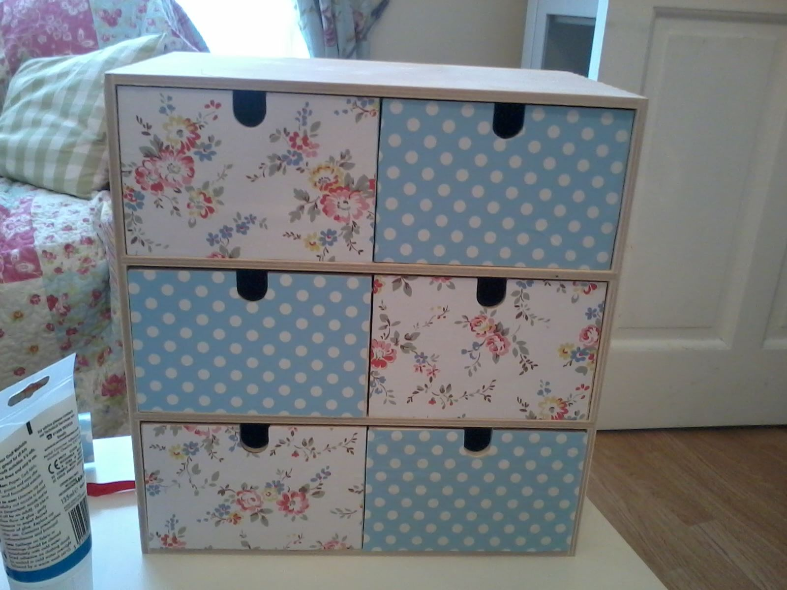 Cajoneras Decoradas Another Cath Kidston Drawer Makeover Decoupage