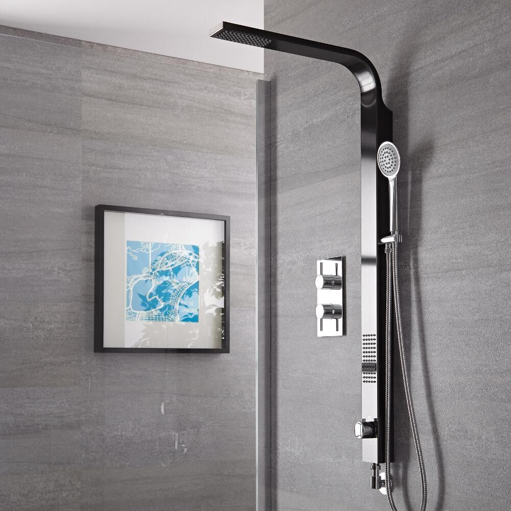 The Harding shower kit will add a sleek designer style to any ...