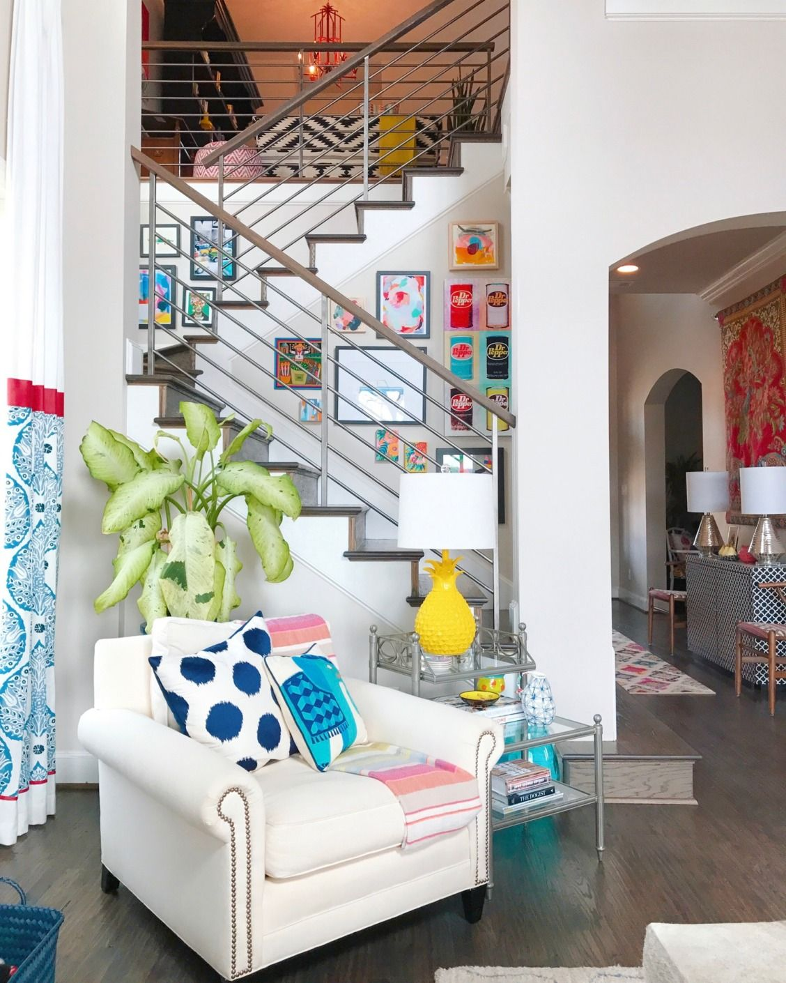 A Bold Vivid Family Home House Tours From Apartment Therapy