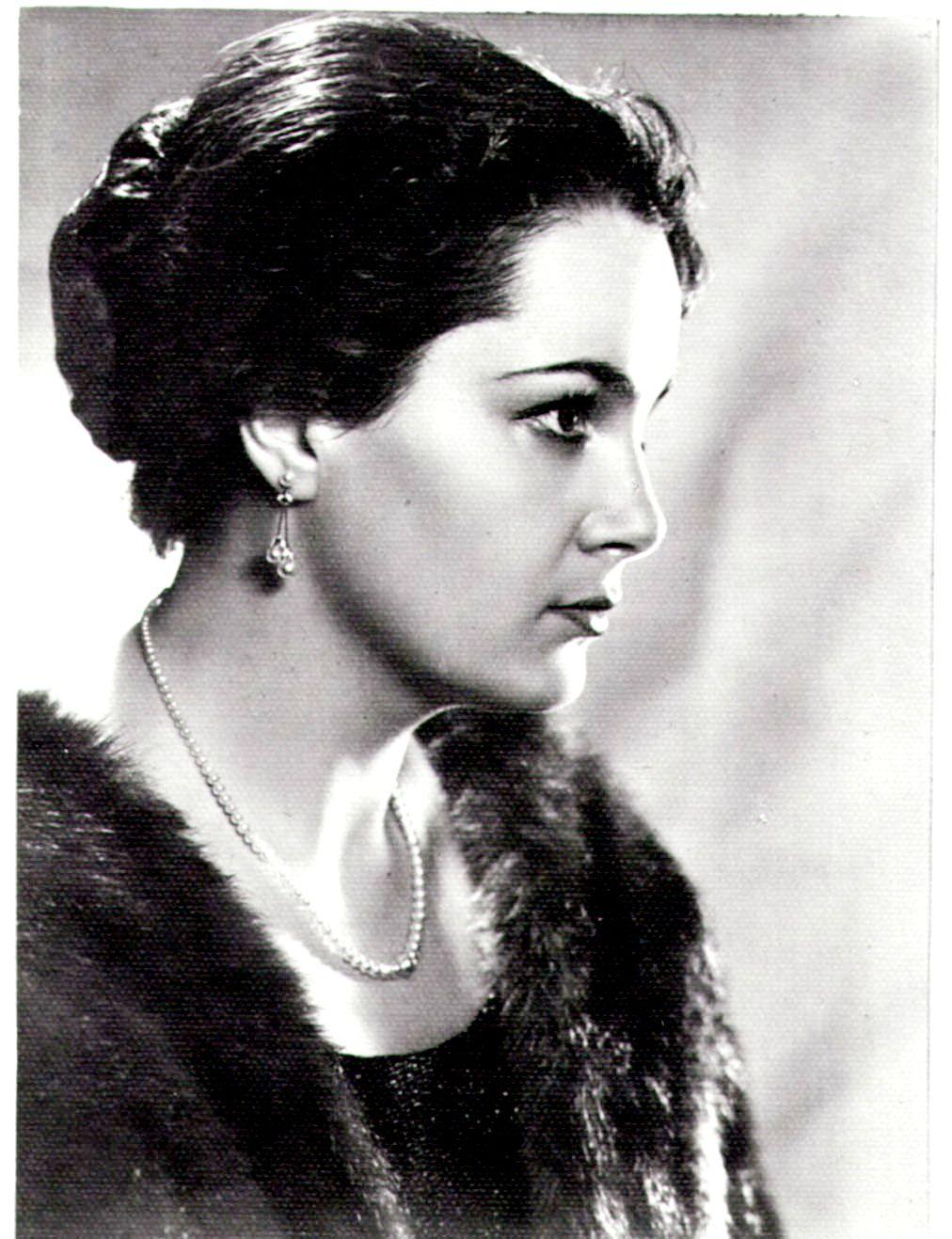 Olga Bgan - actress of the USSR