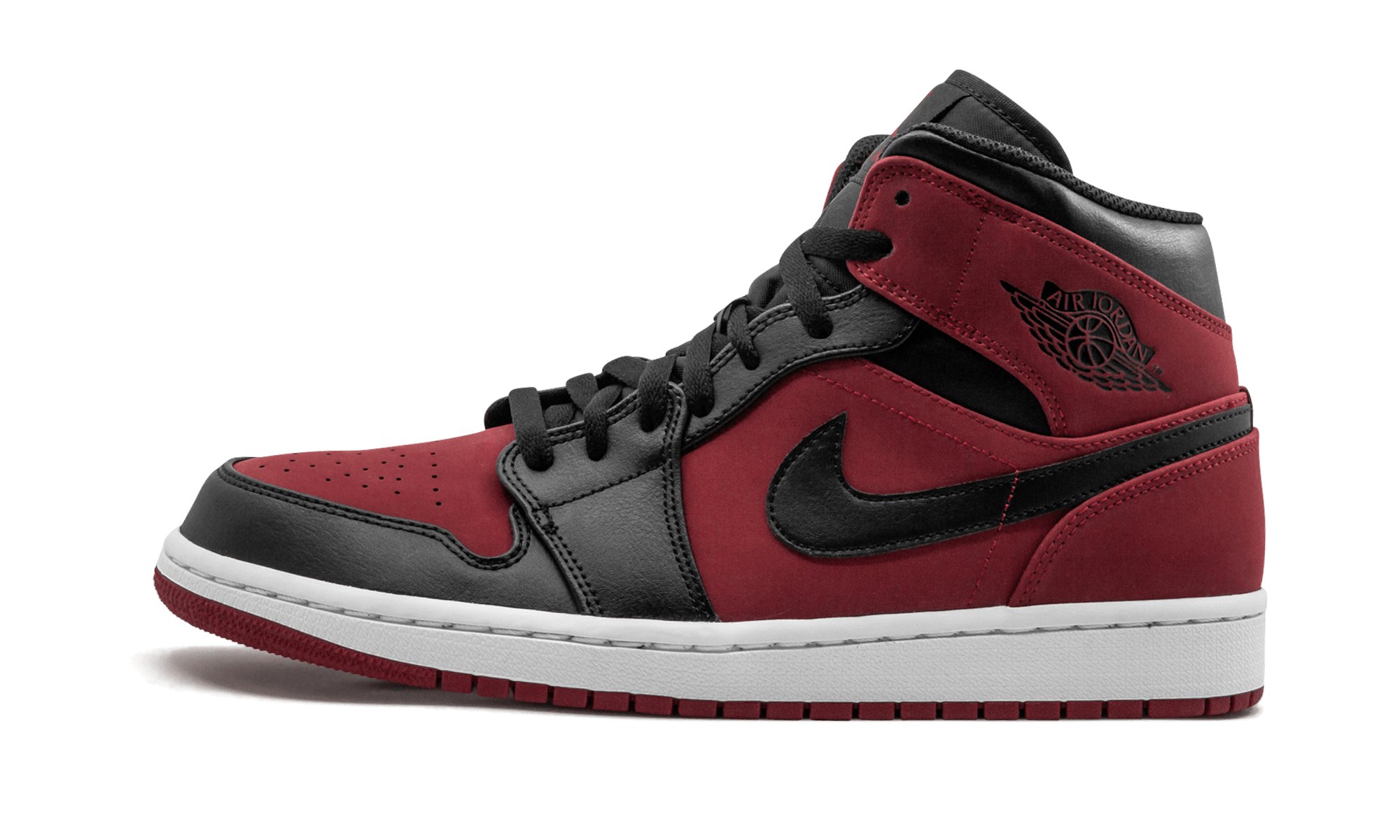 7f303036ee28ed Air Jordan 1 MID554724 610Air Jordan 1 MIDSKU  554724 610Color  Black   Red   nike  jordan  jordanair5retro  royalblueshoes  sneakers  fashionsneakers  ...