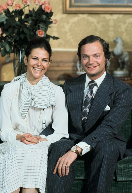 40 år som gifta Kungens födelsedagsvecka har nått sitt slut. Nu blickar vi framåt  40 år som gifta