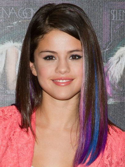 Stylish Hair Colors You Can Try Selena Gomez Hair Stylish Hair Colors Hair Streaks