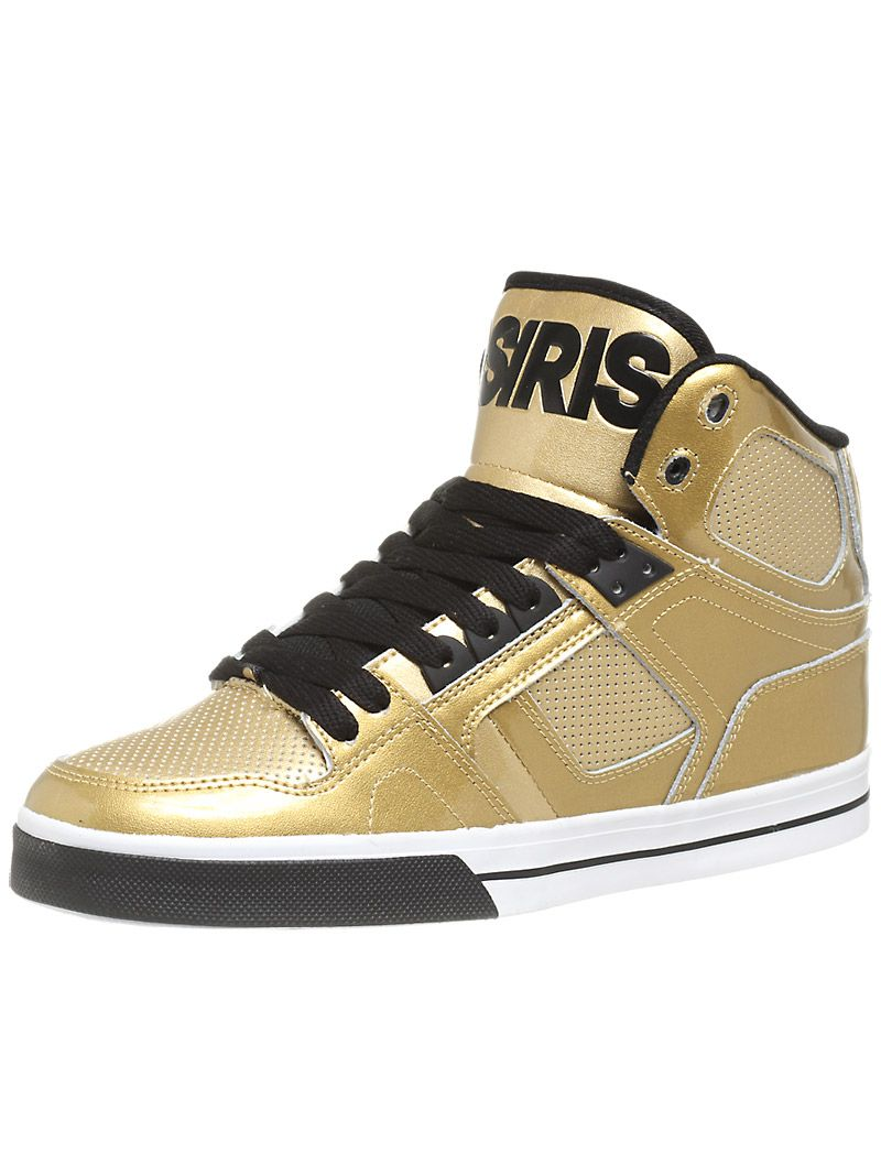 the #Osiris #NYC 83 VLC Shoes in Gold