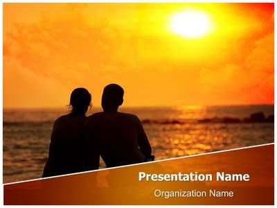 check out our professionally designed sunset romance ppt template