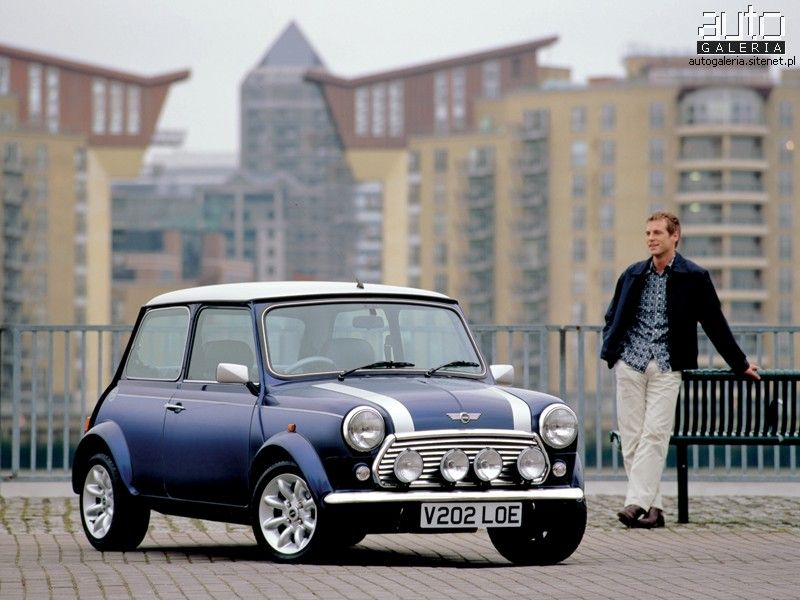 Nothing says sex machine like a classic Mini Cooper  European