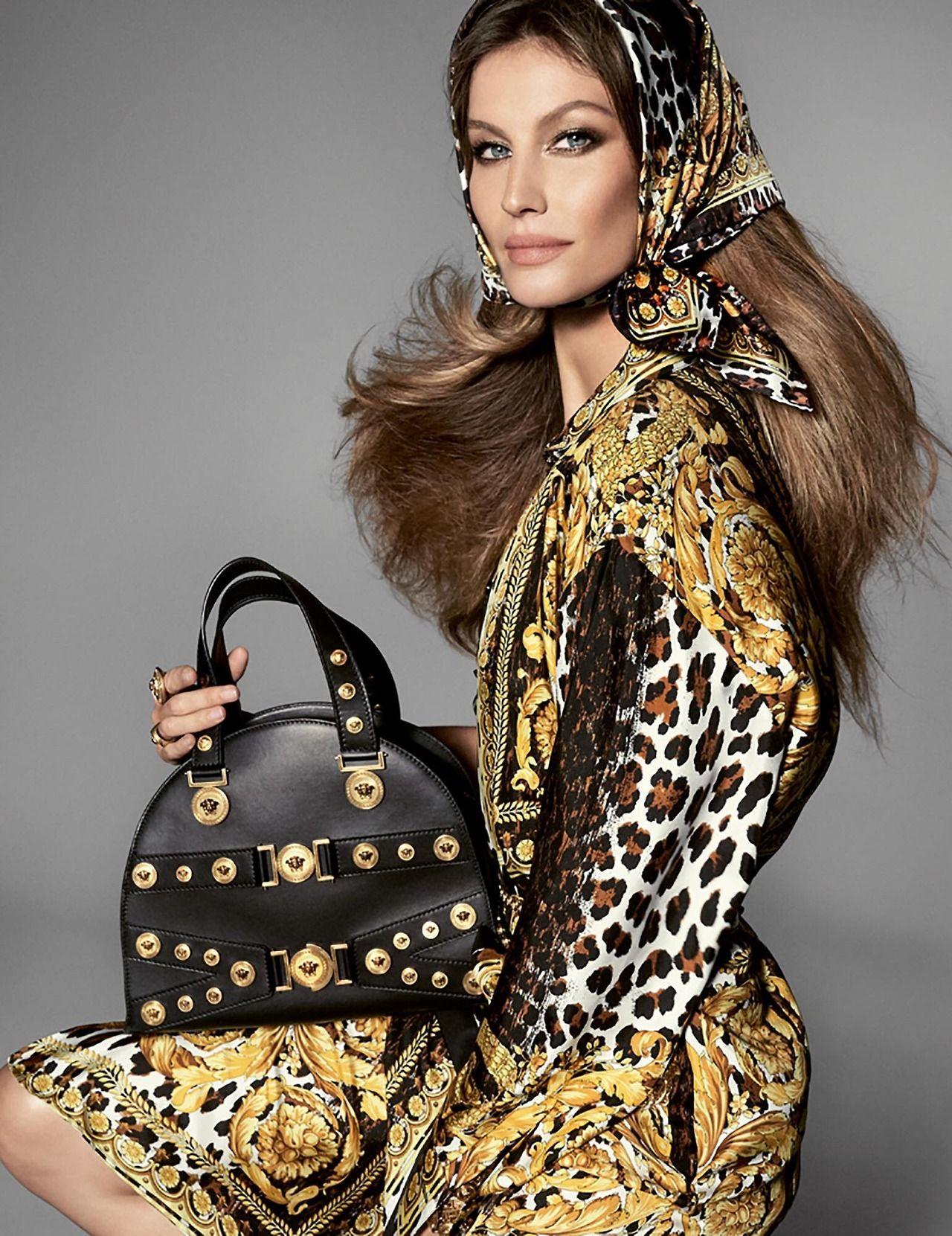 85ce54dd4323 Ad Campaign  Versace Spring Summer 2018 Model  Birgit Kos