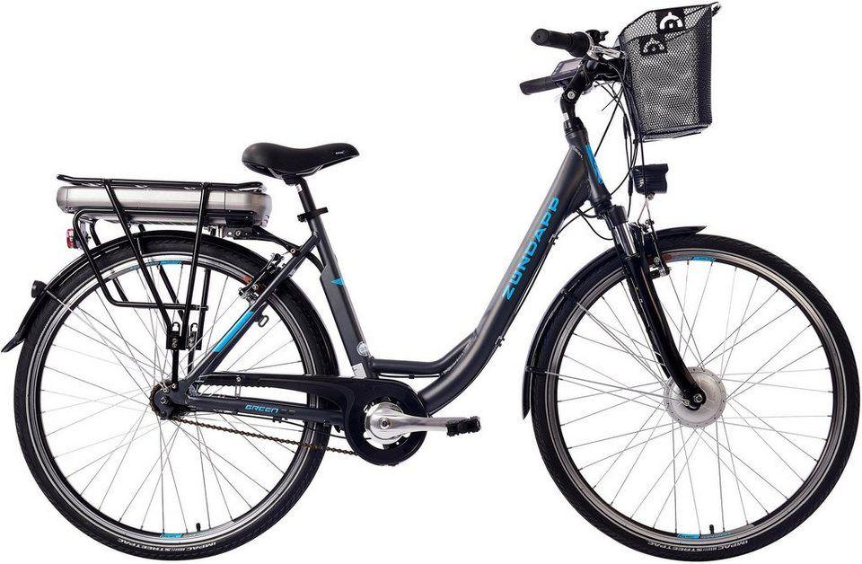 Zundapp E Bike Green 3 5 7 Gang Shimano Nabenschaltung