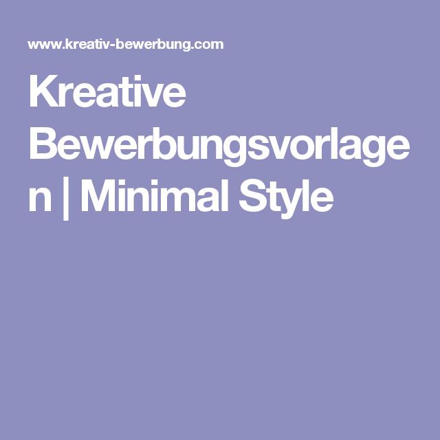kreative bewerbungsvorlagen minimal style bewerbung anschreibenduden karrierelebenslauf - Lebenslauf Duden