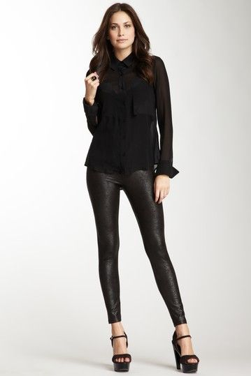 79d6d84c87be07 Jade Faux Leather Legging by Yummie Tummie by Heather Thomson ...