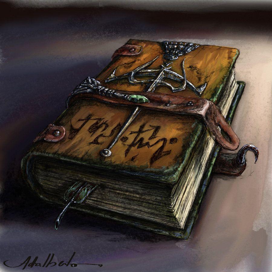 Mystic Book By Adalbertofsouza On Deviantart Fantasy Props Fantasy Books Magic Book