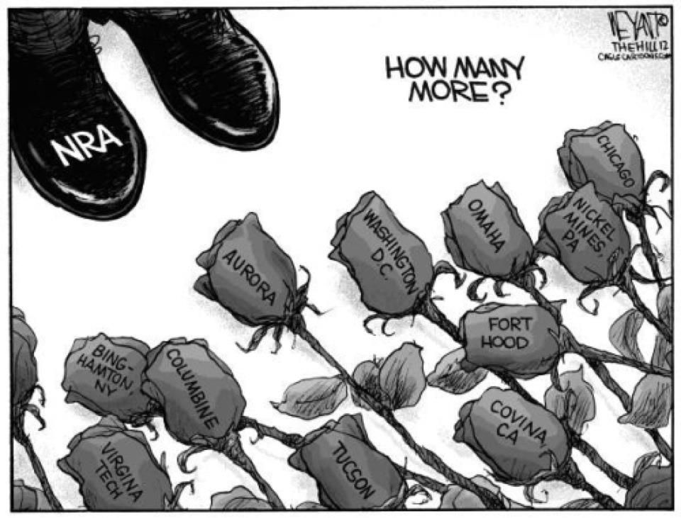 gun control reality politics political cartoons guns  gun control republican party mon sense politics political beliefs school shootings