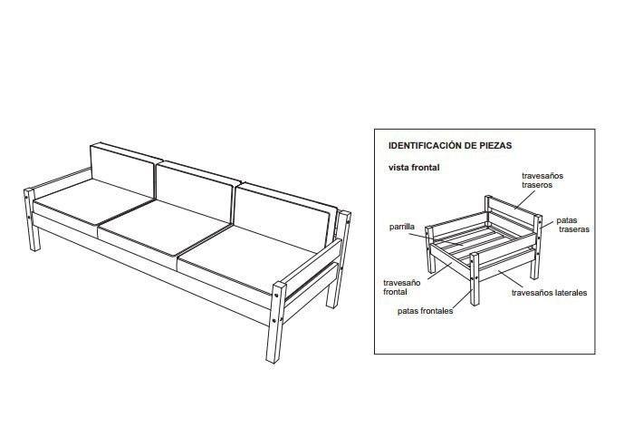 27 Muebles Que Puedes Construir Tú Mismo Bioguia Planos De Muebles Sillones De Tres Cuerpos Muebles De Madera